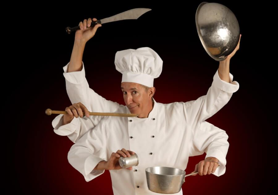 Повар, старший повар, шеф-повар