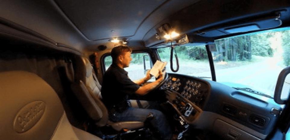 Водитель – дальнобойщик