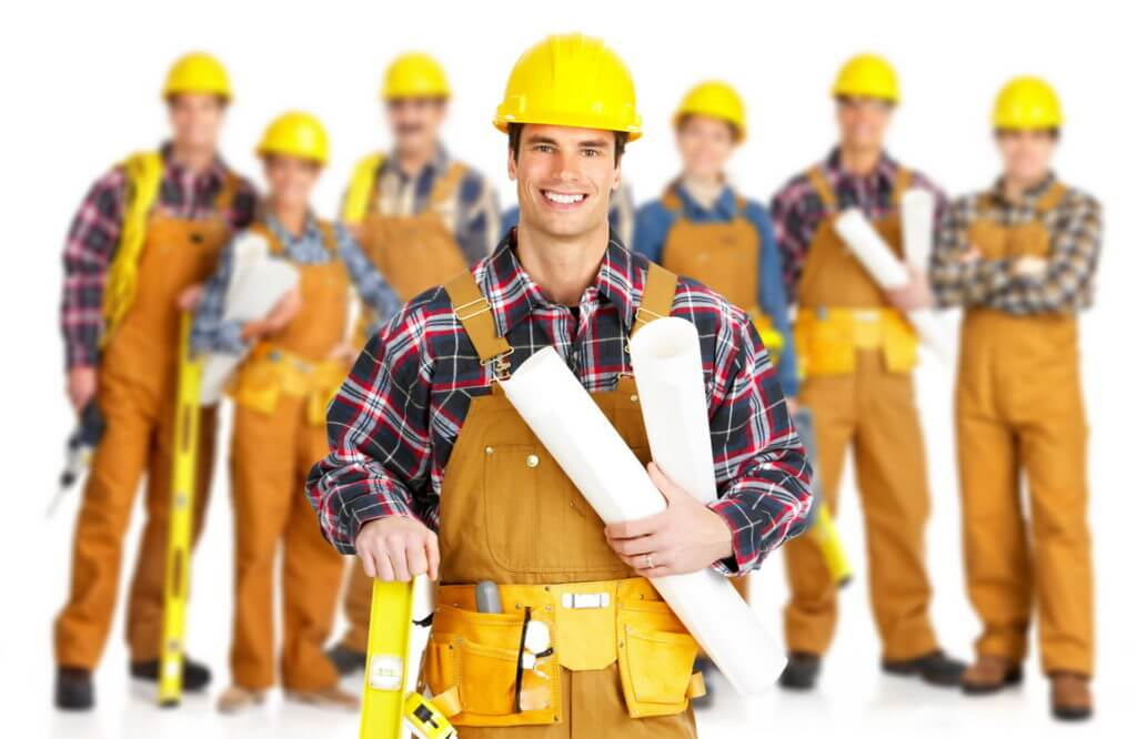 Builders of various specialties